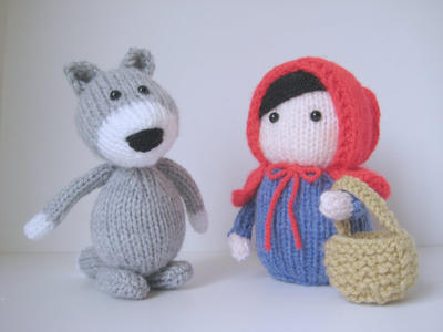 Red Riding Hood toy knitting patterns