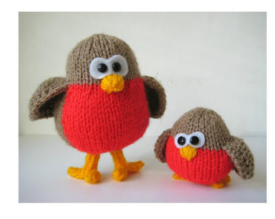Rockin' Robins toy knitting patterns
