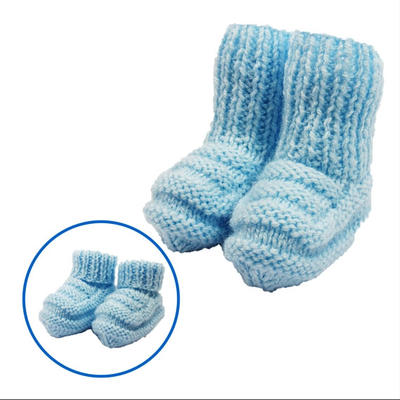 BABY BOOTEES pdf knitting pattern