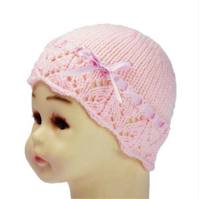 BABY GIRL HAT knitting pattern