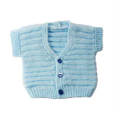 BABY VEST GILET pdf knitting pattern instant download