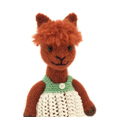 Alpaca Knitting Pattern