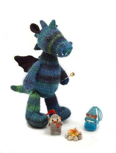 Dragon and Friends knitting pattern