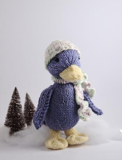 Silly Duck Knitting Pattern