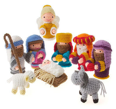 Crochet Amigurumi Christmas Nativity pdf Pattern