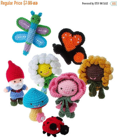 Crochet Amigurumi In the Garden pattern pdf
