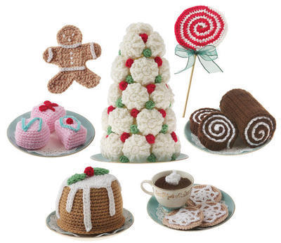 Crochet Holiday Sweets and Treats pattern
