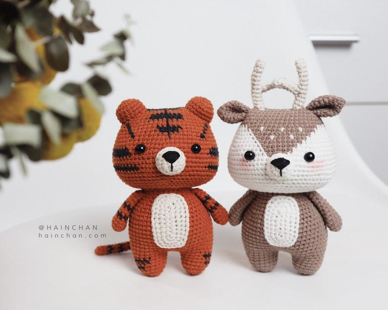 Combo 2 Little Tiger & Little Deer