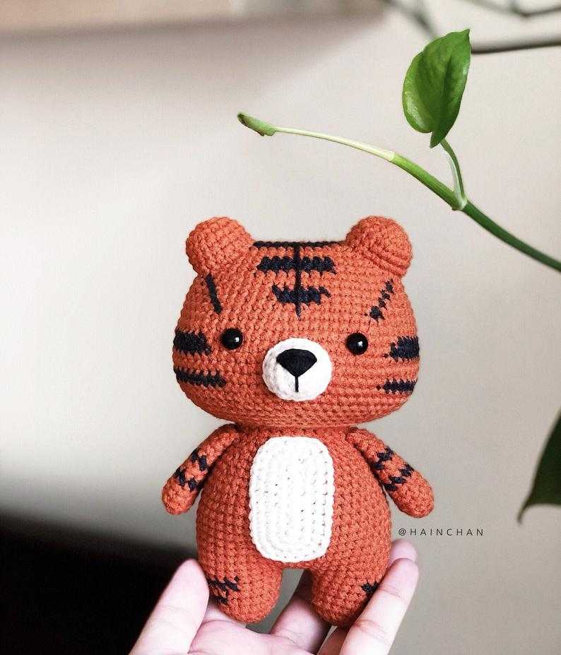 Little Tiger – Crochet PDF pattern
