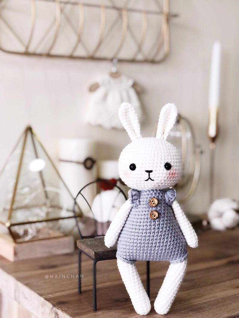 Lucy the Bunny Crochet Pattern