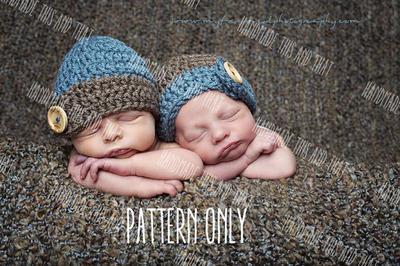Newborn baby prop pattern