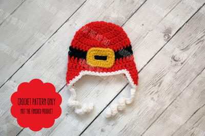 Newborn christmas hat pattern