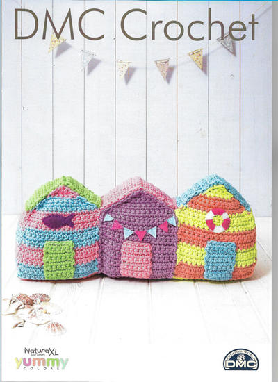 Beach Houses Amigurumi Pattern (DMC Natura XL)
