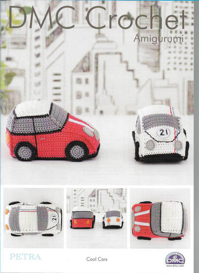 Cool Cars Amigurumi Pattern
