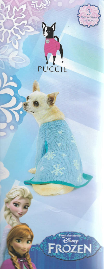 Disney Frozen Dog Cap Knitting Kit