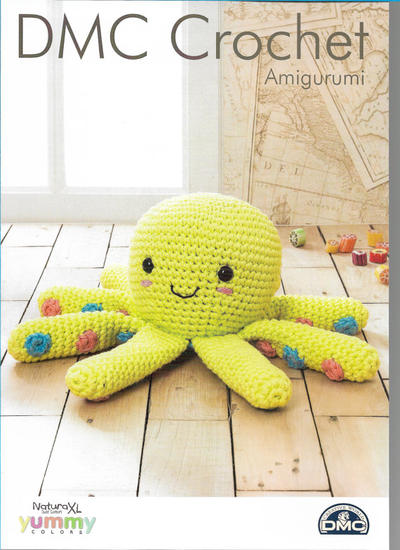Octopus Amigurumi Crochet Pattern (DMC Natura XL)