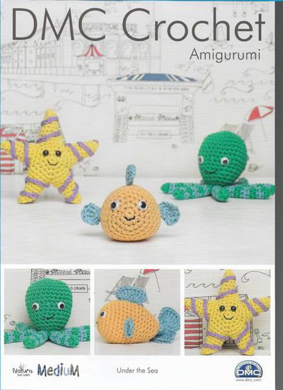 Under The Sea Amigurumi Collection Pattern
