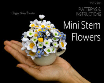 For Loney Spaces Crochet Flower Patterns