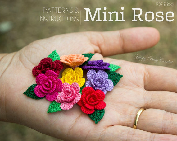 Mini Roses Crochet Pattern