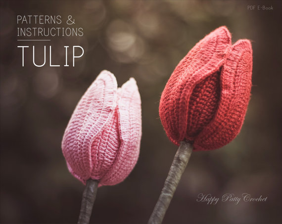 Tulip Flower Crochet Pattern
