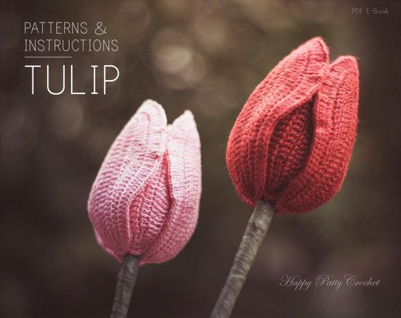 Tulip Flower Crochet Pattern