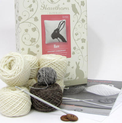 Hare Crochet Cushion Kit