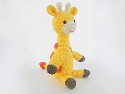 Crochet Toy Stuffed Animal Giraffe Pattern