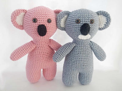Easy Crochet Toy Pattern for Amigurumi Koala