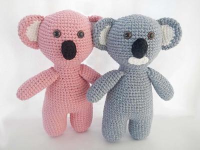 Easy Crochet Toy Pattern for Amigurumi Koala