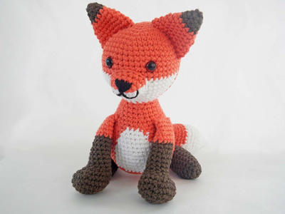 How to Crochet Amigurumi Fox Kawaii Stuffed Animal
