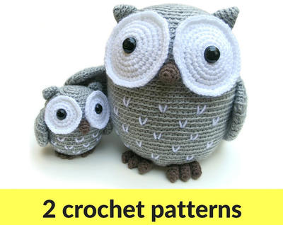 Owl amigurumi patterns - owl stuffed animal