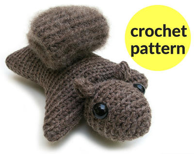 Squirrel amigurumi pattern