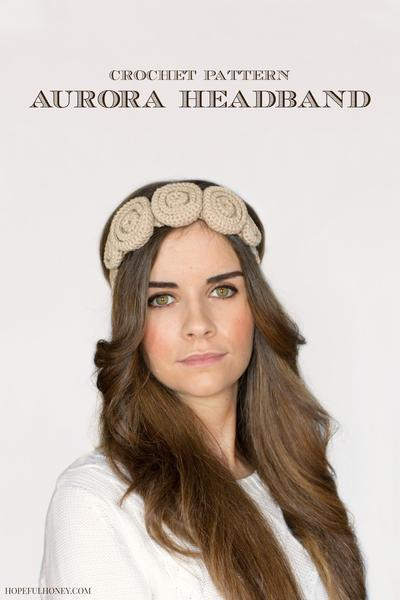 Aurora Headband Crochet Pattern