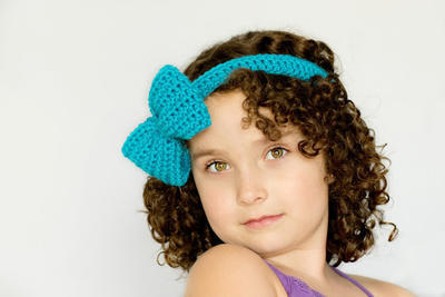 Bluebell Headband & Bow Crochet Pattern