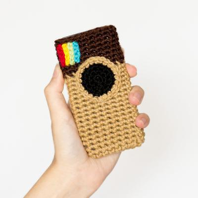 Instagram Inspired Phone Case Crochet Pattern