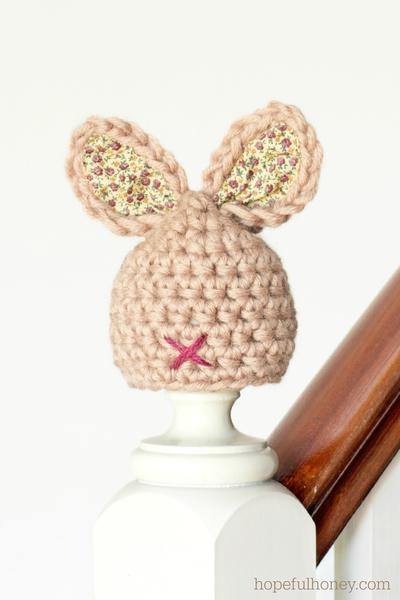 Newborn Bunny Hat Crochet Pattern