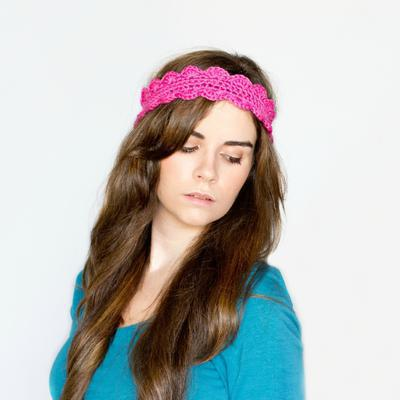 Scalloped Headband Crochet Pattern