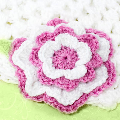 Tickled Pink ~ Multi Layered Flower Pattern