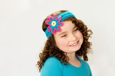 Vibrant Summer Headband & Flower Crochet Pattern