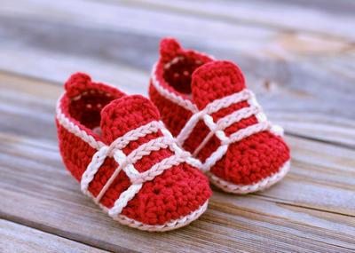 """Baby Crochet Shoes """"Auroch Sneaker"""""""