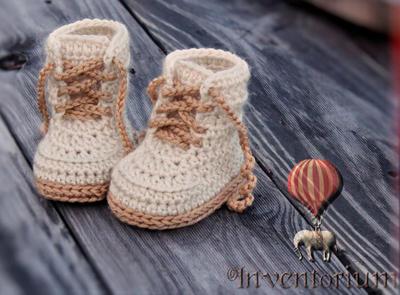 "Crochet Pattern Baby Boys Booty ""Combat"""