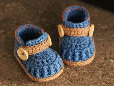"Crochet Pattern Booties Crochet Shoes ""Jett Boots"""