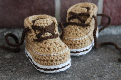 "Crochet Pattern for Boys Boots ""Forrester Boot FX"""