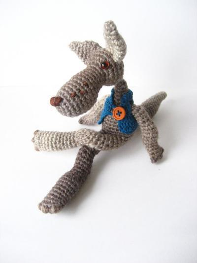 Big Bad Wolf - Amigurumi Pattern