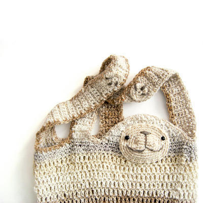 Cedric The Sloth - Crochet Shopper Pattern