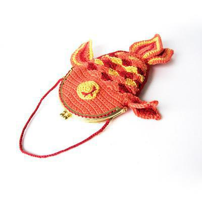 Lucky Goldfish Purse Crochet Pattern