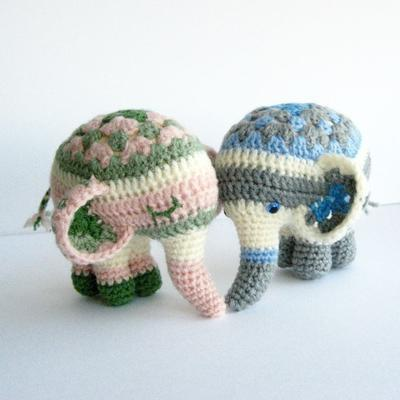 Noodle The Elephant - Amigurumi Pattern