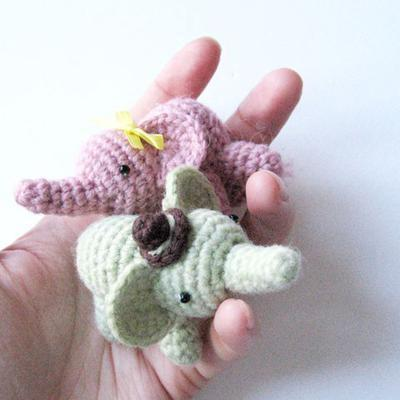 Percy The Elephant - Amigurumi Pattern