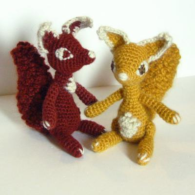 Scarlett The Squirrel - Amigurumi Pattern