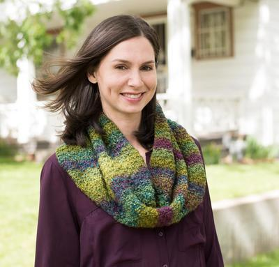 Marble Chunky Cowl Kit